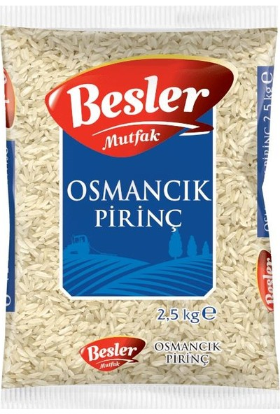 Besler Mutfak Osmancık Pirinç 2,5 kg