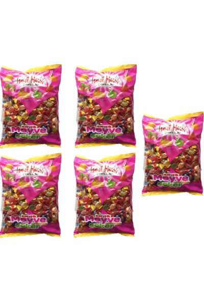 İsmet Meriç Karışık Meyveli Bonbon Şekeri - 1 x 5 kg