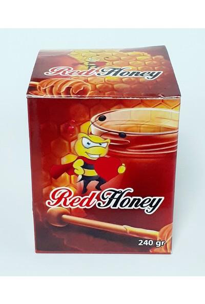 Şahımerdan Red Honey Epimedyumlu (Kırmızı Bal) Kuvvet Macunu Özel Üretim 240GR