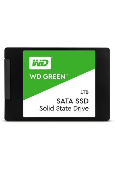 WD 1 TB 2.5 SATA3 SSD 525 MB/S 3DNAND WDS100T2G0A