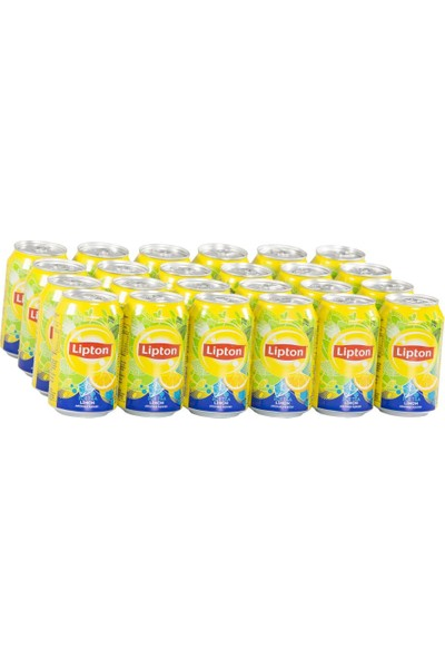 Lipton Ice Tea Limon Aromalı 330ml (24'lü)