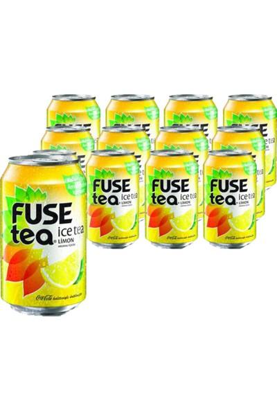 Fuse Tea Ice Tea Limon 330 ml (12'li)