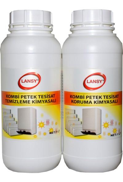 Lansy 2'Li Set Kombi Petek Tesisat Temizlik Ve Koruma Kimyasalı