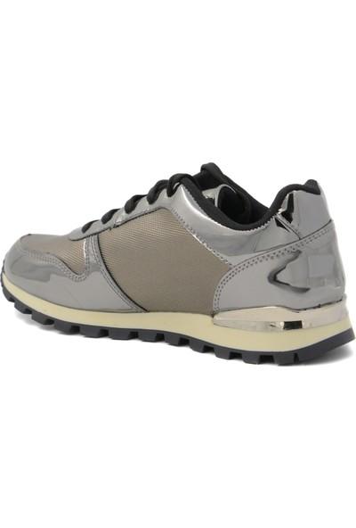 Vanotte Antrasit Ayna Kadın Spor Ayakkabı Z.519VNT