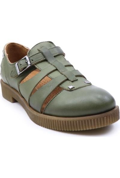 Mammamia 3305 Kadın Deri Ayakkabı