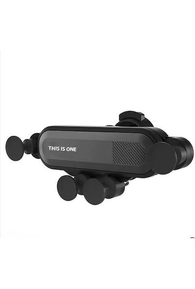 PST Otomatik Kavramalı Ahtapot Araç İçi Telefon Tutucu - Siyah