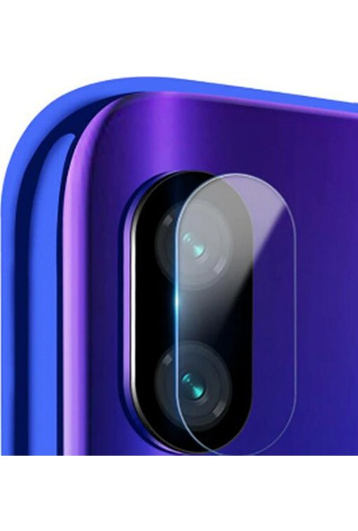CoverZone Huawei P30 Arka Kamera Lens Temperli Ekran Koruyucu