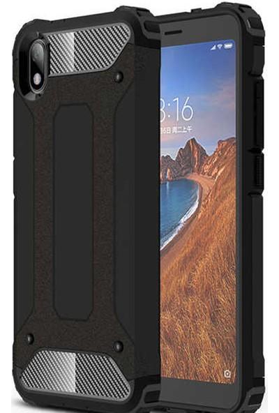 CoverZone Samsung Galaxy Note 10 Plus Kılıf Zırhlı Shockproof Siyah
