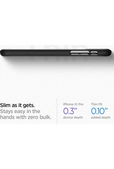 Spigen Apple iPhone 11 Pro Max Kılıf Thin Fit Black - 075CS27127