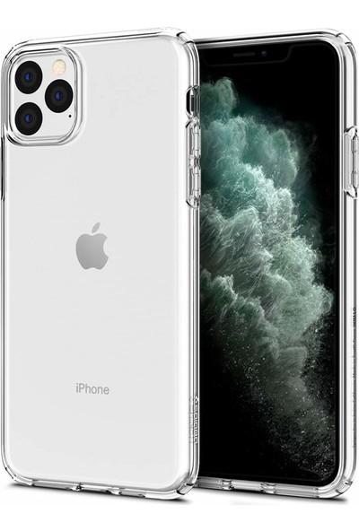 Spigen Apple iPhone 11 Pro Max Kılıf Liquid Crystal Clear 4 Tarafı Tam Koruma - 075CS27129