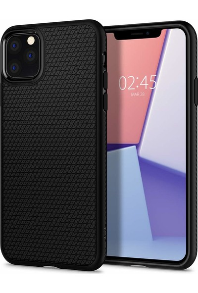 Spigen Apple iPhone 11 Pro Kılıf Liquid Air Black - 077CS27232