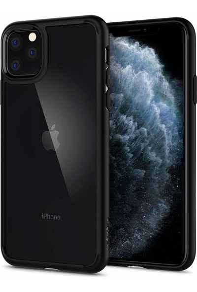 Spigen Apple iPhone 11 Pro Kılıf Ultra Hybrid Black - 077CS27234