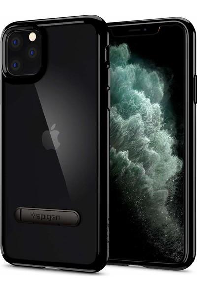 Spigen Apple iPhone 11 Pro Kılıf Ultra Hybrid S Jet Black - 077CS27444