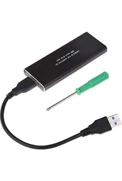 Appa Msata 2 SSD M2 M.2 Usb3.0 Ngff Harddisk Kutusu Sata Srf-Msatabox