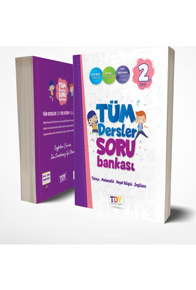 Tüm Dersler Yayınları 2. Sınıf Tüm Dersler Soru Bankası