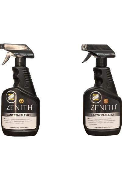 Zenith Jant Temizleyici ve Lastik Parlatma Seti 2 x 500ML
