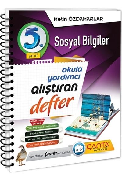 Çanta Yayınları 5. Sınıf Sosyal Bilgiler Alıştıran Defter