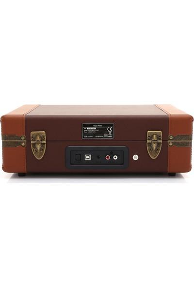 GDL Retro Çanta Pikap T317BU (Bluetooth - USB - Şarjlı)