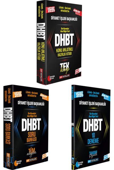 Ddy Yayınları DHBT 2020 Ahkam Serisi Tüm Kitaplar 3'lü Set