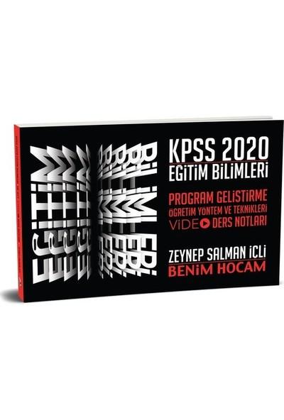Benim Hocam Yayınları 2020 Kpss Eğitim Bilimleri Program Geliştirme Öğretim Yöntem Ve Teknikleri Video Ders Notları