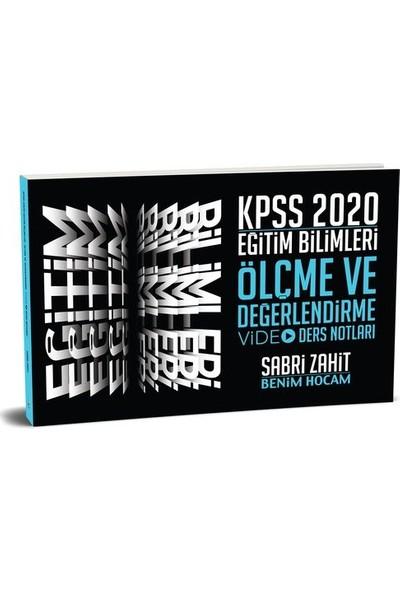 Benim Hocam Yayınları 2020 Kpss Eğitim Bilimleri Ölçme Ve Değerlendirme Video Ders Notları