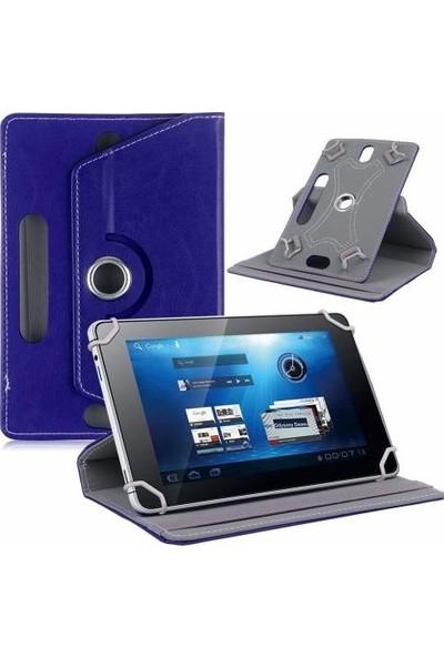 """AksesuarFırsatı Artes QD1002 - 10.1"""" Tablet Dönerli Tablet Kılıfı Lacivert"""