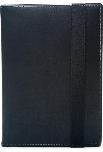 "AksesuarFırsatı Lenovo TAB 4 10 PLUS 10.1"" Tablet Dönerli Tablet Kılıfı Siyah"