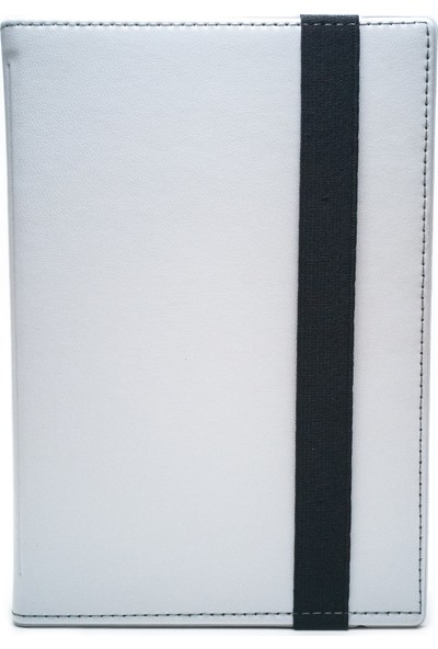 "AksesuarFırsatı Piranha Intel Tab 7001 - 7"" Tablet Dönerli Tablet Kılıfı Beyaz"