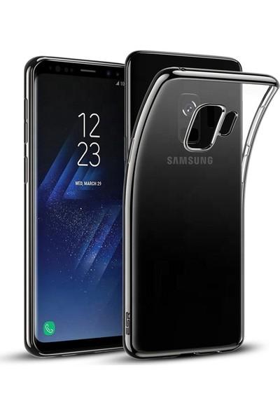 Melikzade Samsung Galaxy S9 Premium Şeffaf Silikon Kılıf Arka Kapak