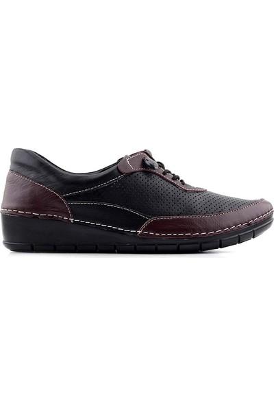 Evida 0103 Hakiki Deri Kadın Ayakkabı