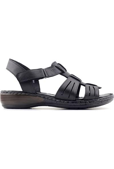 Iz 034 Hakiki Deri Kadın Sandalet