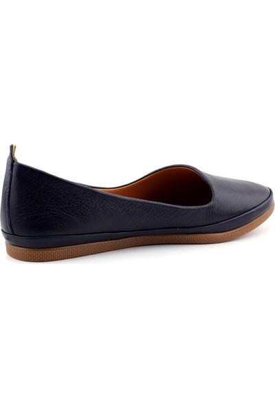 Estile 202 Hakiki Deri Kadın Ayakkabı