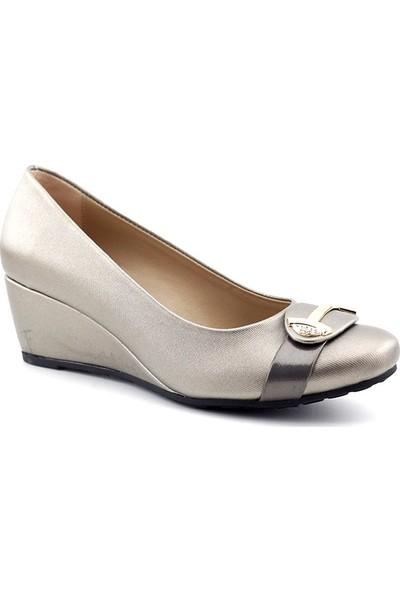 Demirtaş 2433 Kadın Dolgu Topuklu Ayakkabı