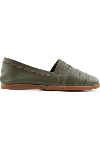 Estile 501 Hakiki Deri Kadın Ayakkabı