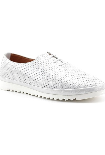 Estile 509 Hakiki Deri Kadın Ayakkabı