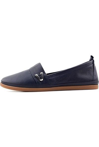 Estile 61 Hakiki Deri Kadın Ayakkabı
