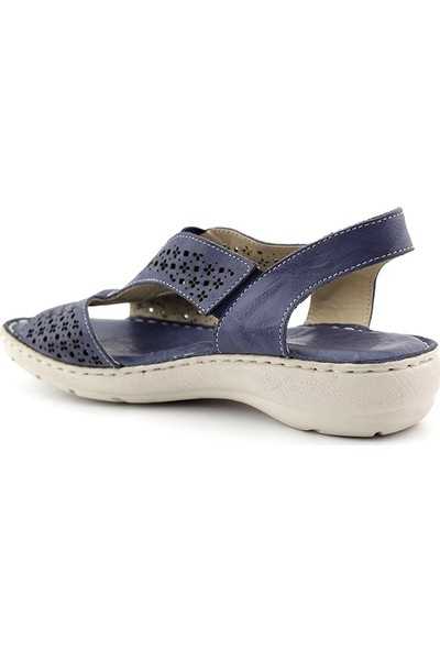 Noble 725 Hakiki Deri Kadın Sandalet