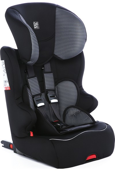 Babybee Racer Isofix 9 - 36 kg Oto Koltuğu - Tech Grey