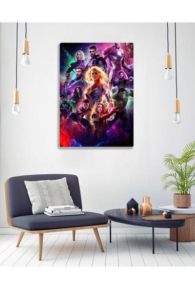 Fandomya Marvel 75 x 50 cm Dev Kanvas Tablo NO:1104
