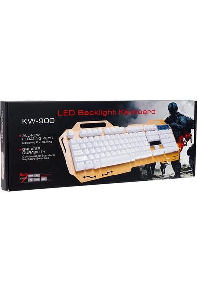 Hello HL-18743 Kablolu USB Mekanik Hisli Oyuncu Klavyesi