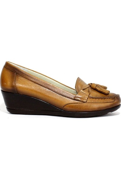 Fementa 4002 Hakiki Deri Kadın Günlük Ayakkabı