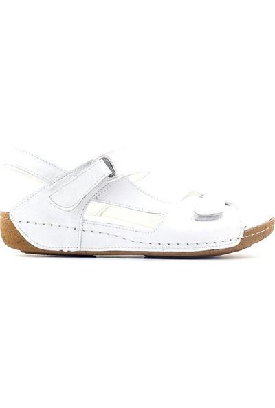 Ac Schnitzer 658 Hakiki Deri Kadın Sandalet