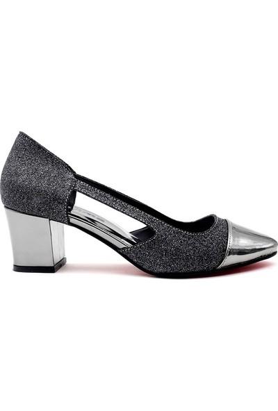 Saçma 863 Kadın Topuklu Ayakkabı