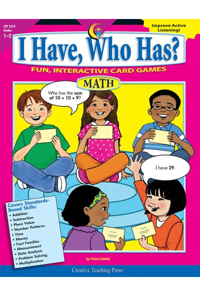 I Have, Who Has Math 1-2