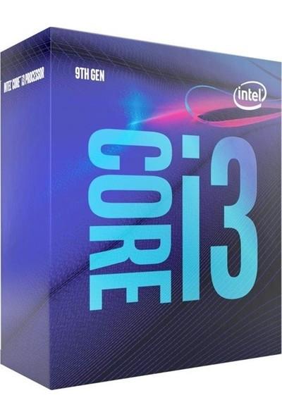 Intel Core i3 9100 3.6GHz 9MB Cache LGA1151 HD630 İşlemci