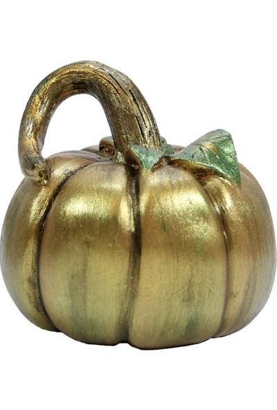 Dekorsende Dekoratif Kabak Büyük Gold Yeşil