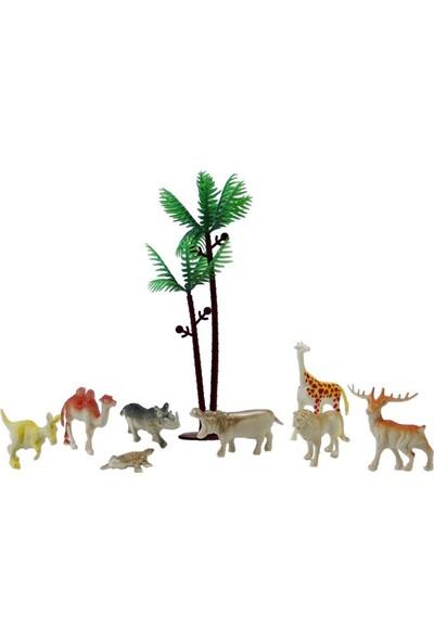 Dekorsende Karışık Vahşi Hayvanlar