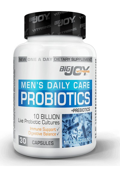 Bigjoy Vitamins Probiotics For Mens 30 Kapsül BİG351528