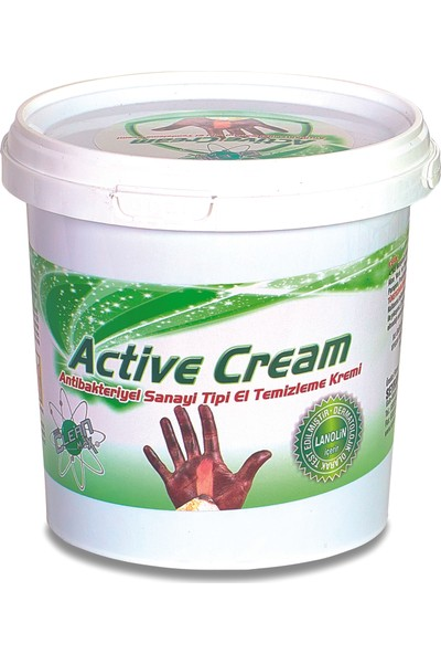 Nano Clean Max Active Cream Endüstriyel Sanayi Tipi El Temizleme Kremi