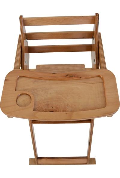 Mobildeco Ahşap Katlanır Mama Sandalyesi